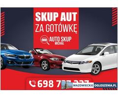 Skup Aut-Skup Samochodów #Ciechanów i okolice# Najwyższe CENY!