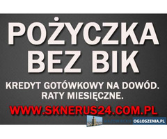 Pożyczka Bez BIK/BIG/KRD/ERIF. Najlepsza oferta na rynku